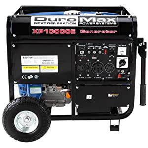 DuroMax XP10000e side panel