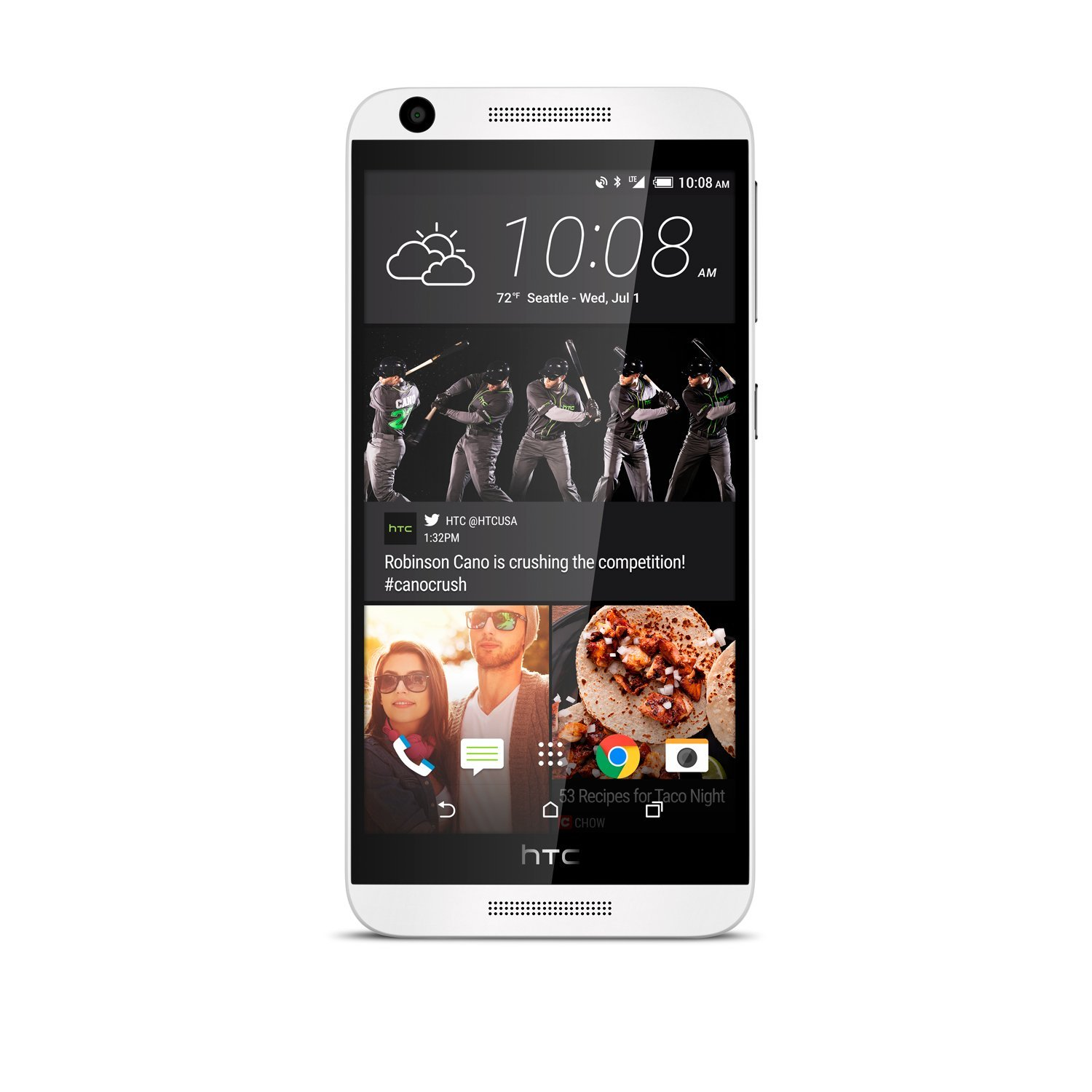 HTC Desire 626S No Contract Phone White (Virgin Mobile)