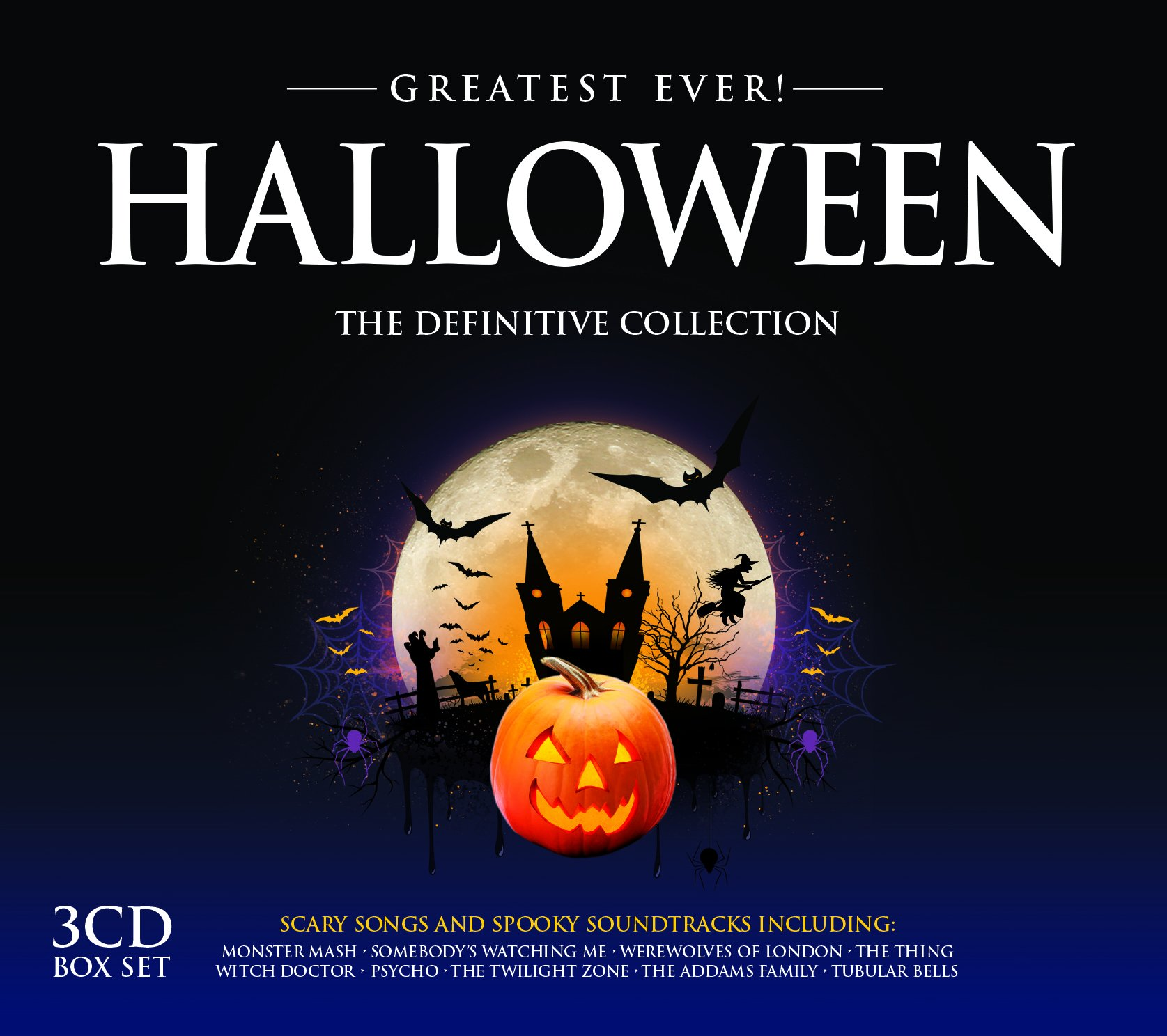 VA-Greatest Ever Halloween-3CD-FLAC-2014-NBFLAC Download