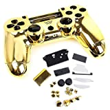 SQDeal Housing Gaming Controller Shell Polished Glossy Case Protective Skin Replacement Part for Sony PlayStation 4 PS4 Controller