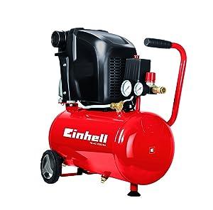 Einhell TEAC 230/24, Kompressor, 1,5 kW, 24 L, Ansaugleistung 230 l/min, 8 bar, 1 Zylinder, 4010460  BaumarktBewertungen
