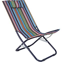 Mountain Warehouse Lounger Chair - Patterned Stripe
