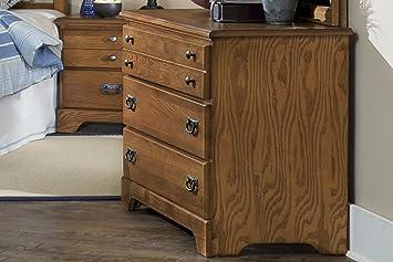 Carolina Furniture 385300 Creek Side Single Dresser In Autumn Oak