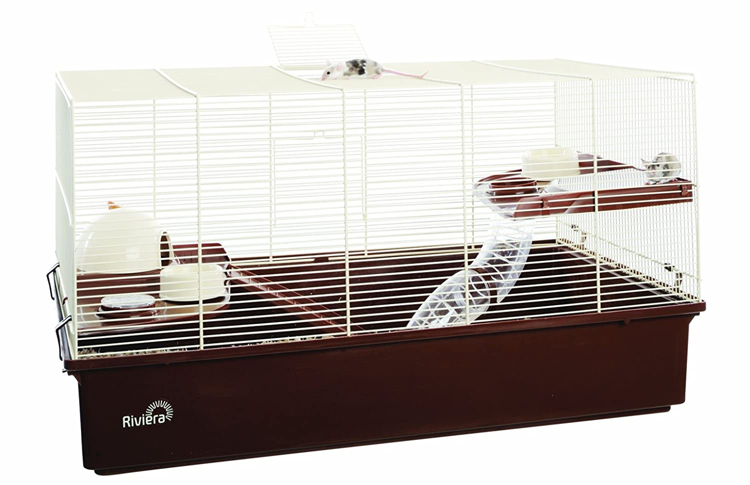 Hamster Cage Extra Large 70 x 40 x 40 cm With Accessories