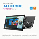 """iView-1700AIO All in One Computer / Tablet, 17.3"""" IPS 1920 x 1080 Touch Screen, Intel Atom Z8350 Quad Core CPU, 4GB/32GB , Windows 10, WiFi, Front Camera, Bluetooth Keyboard and Mice"""