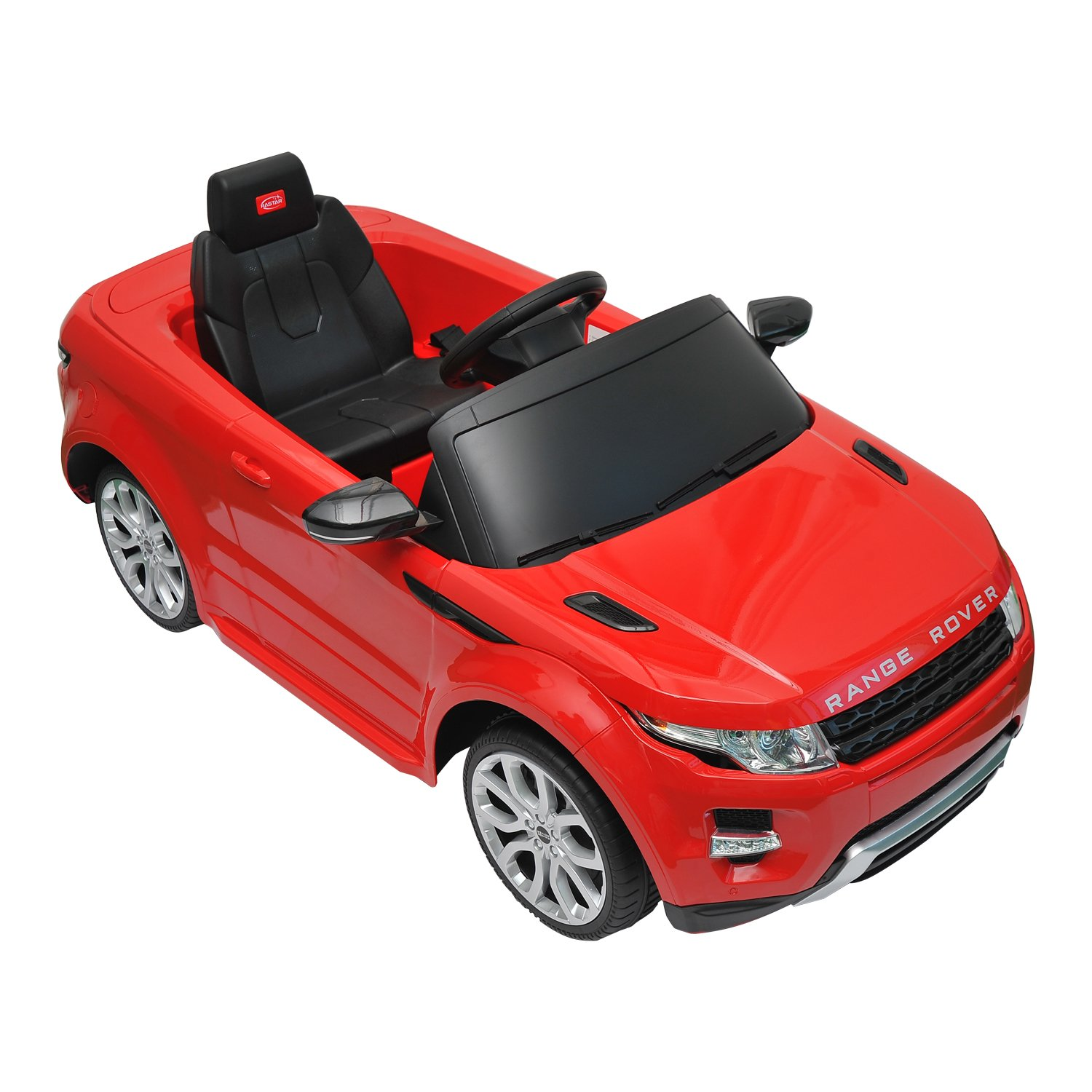 Aosom Land Rover Evoque Kids 6v Electric Ride On Toy Car w/ Parent Remote Control - Red at Sears.com