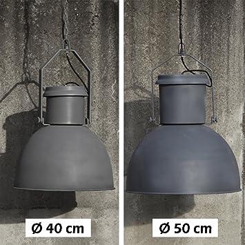 deckenleuchte factory industrie fabriklampe lampe deckenlampe loftlampe vintage 40 cm da884. Black Bedroom Furniture Sets. Home Design Ideas