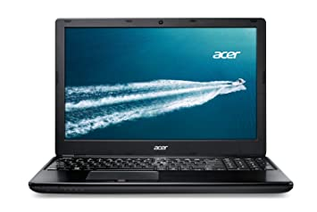 "Acer TravelMate P455-M PC Portable 15"" pour Professionnels Noir (Intel Core i5, 4 Go de RAM, Disque Dur 500 Go, Windows 8.1 Pro)"