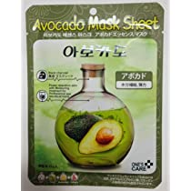 Avocado Facial Mask Sheet - 5pcs