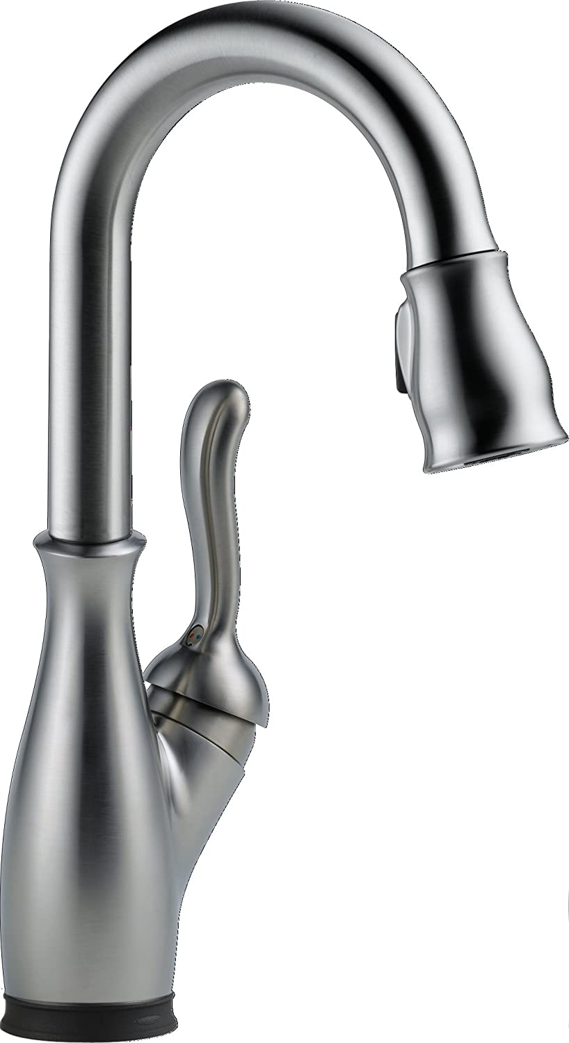 Delta Faucet 9678T-AR-DST Leland Bar/Prep Faucet with Touch2O, Arctic Stainless