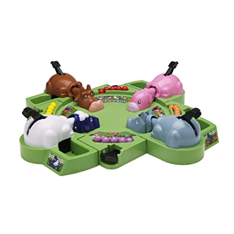 Hasbro – Farmville – 28935 – Hungry Hungry Herd – Hippos Gloutons Farmville (Import UK)