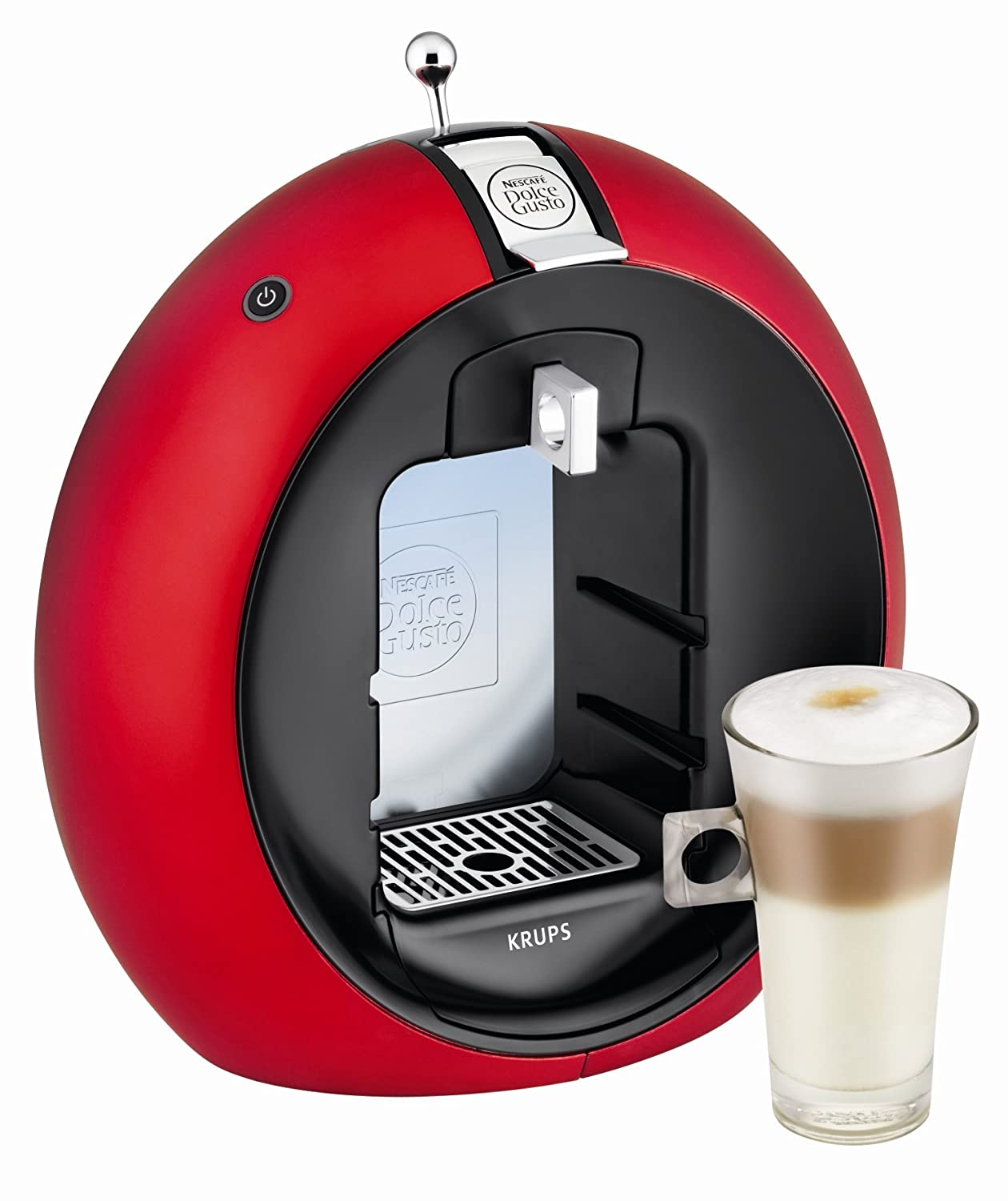 krups kp5006 nescafe dolce gusto circolo coffee machine red kp5006 ebay. Black Bedroom Furniture Sets. Home Design Ideas