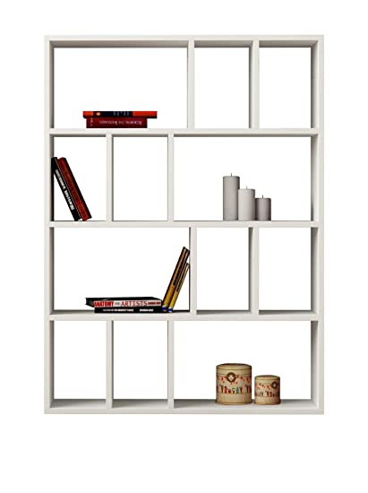 Decortie By Homemania Libreria Donie Bianco