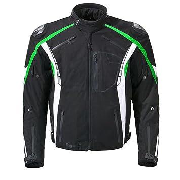 GERMOT eAGLE veste de moto noir/vert