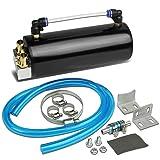 DNA Motoring OCT-BK Oil Catch Tank (Color: Black)