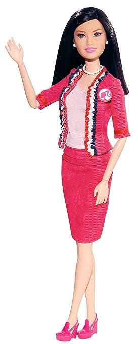 Barbie - I Can Be President Asian Doll - X 2932 - Mattel