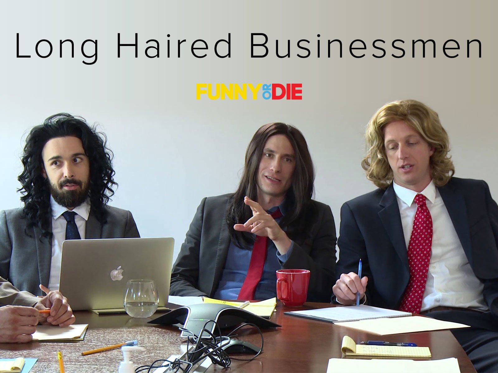 Long Haired Businessmen on Amazon Prime Video UK