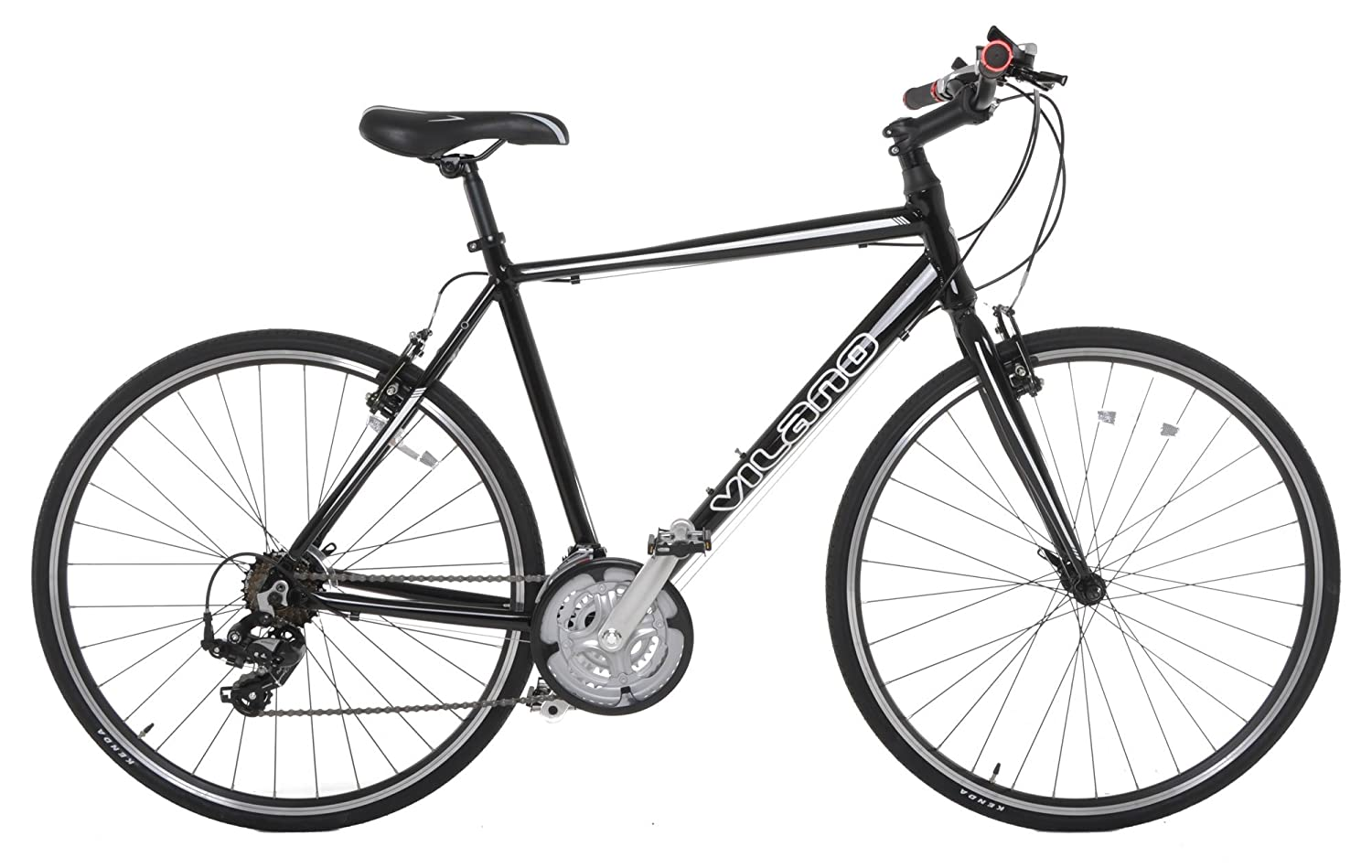 Vilano 700C Hybrid Flat Bar Commuter Road Bike