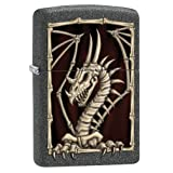 Zippo Lighter: Dragon Skeleton - Iron Stone 79581 (Color: Iron Stone Skeleton)