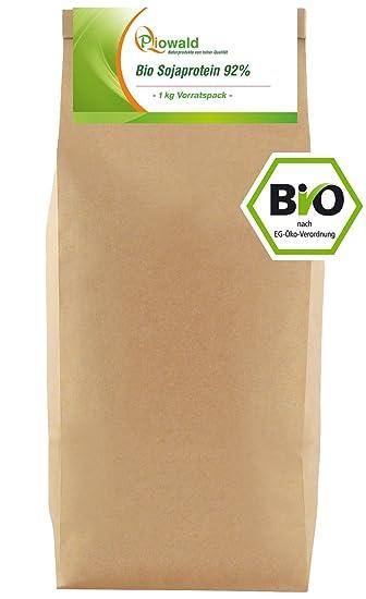 BIO Sojaprotein 92% - 1 kg Vorratspack, Soy Protein