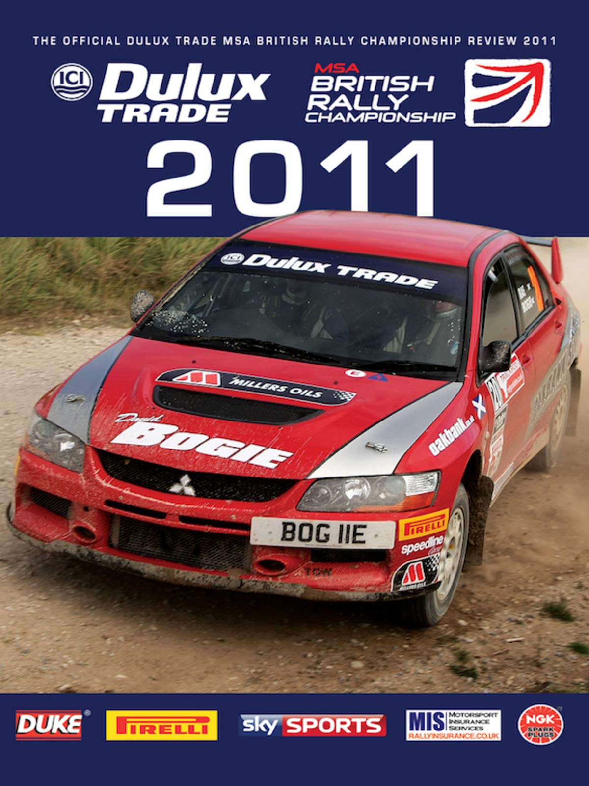 British Rally Championship Review 2011