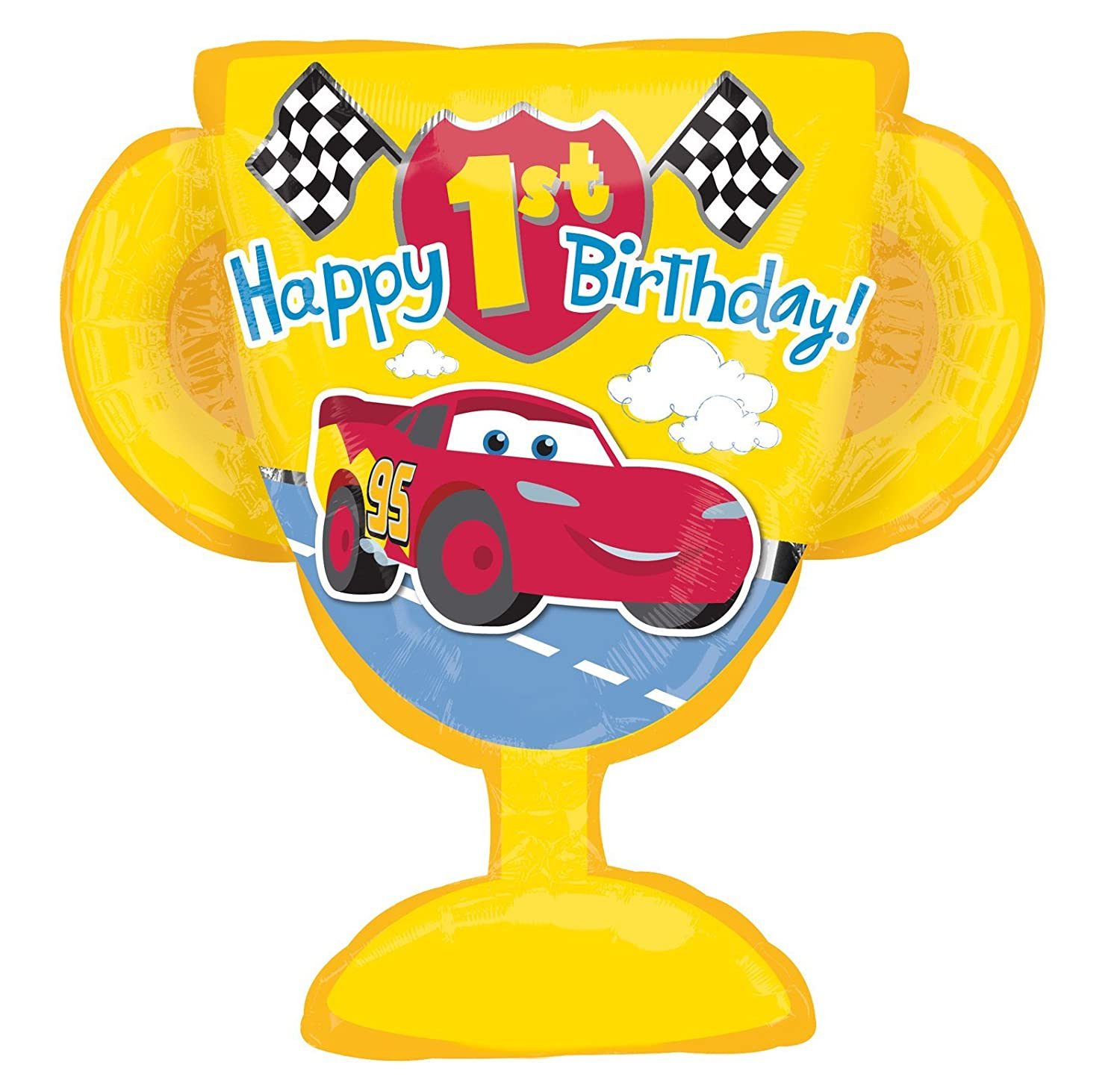 Disney Cars First Birthday Party Supplies