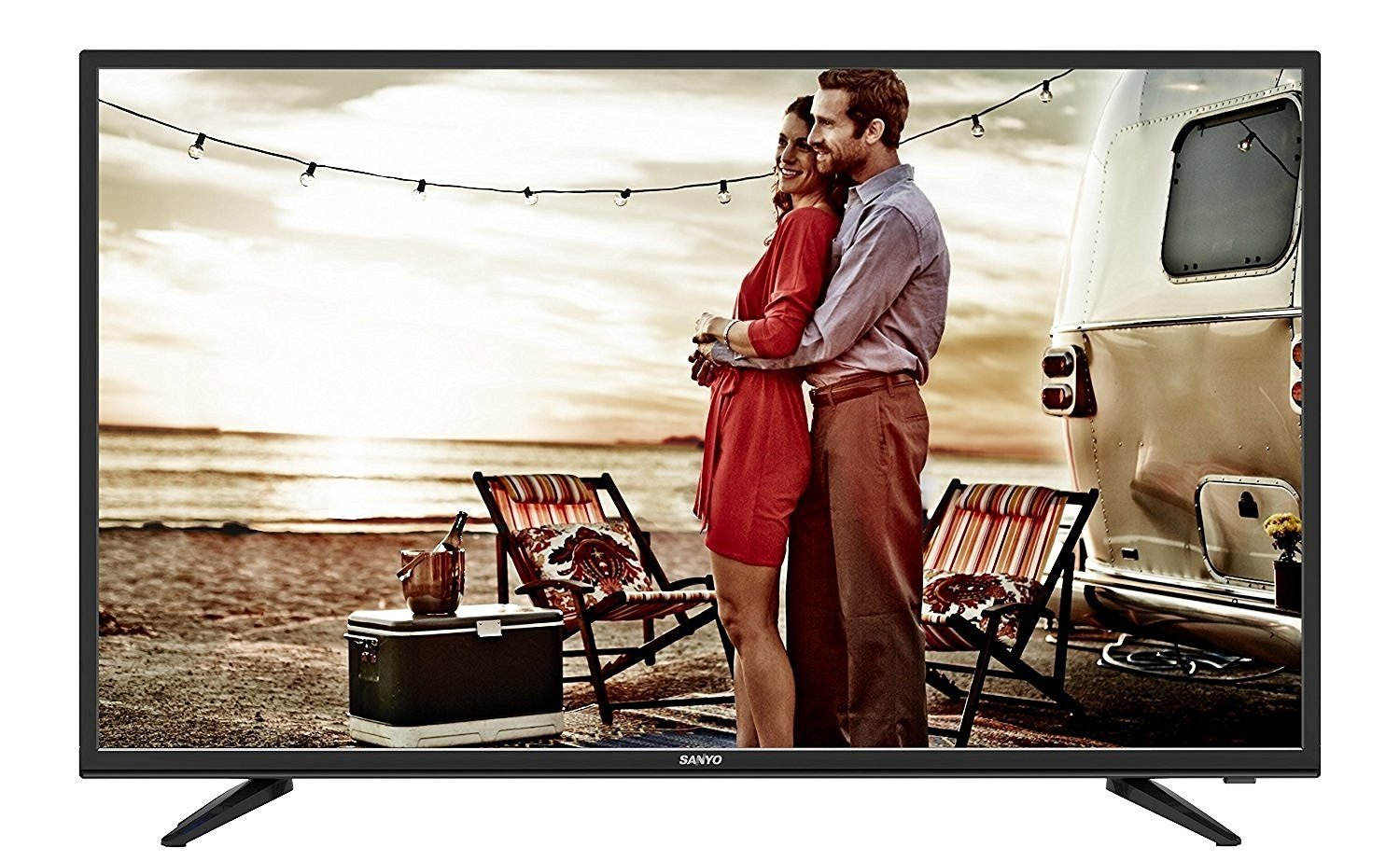 Sanyo 109 cm (43 inches) XT-43S7100F Full HD LED IPS TV (Black) By Amazon @ Rs.25,990
