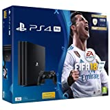 PlayStation Sony 4 Fifa 18 Pro 1 Tb With Fifa 18 Ultimate Team Icons And Rare Player Pack (Color: Black)
