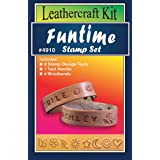 Realeather Crafts Leathercraft Funtime Stamp Set