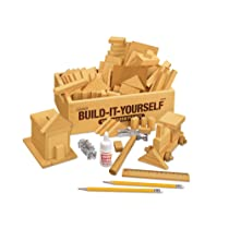 Build-It-Yourself Woodworking Kit