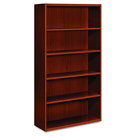 HON Arrive Wood Veneer Series Five-Shelf Bookcase