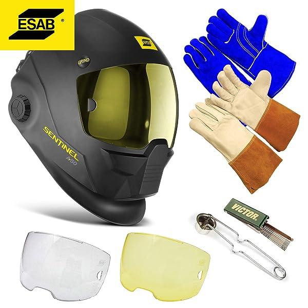 Esab Sentinel Automatic Welding A50 Helmet Hood, Part# 0700000800 - Brand New, Not In Original Packaging - Full Manufacturer's Warranty