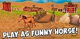 Cartoon Farm Horse Simulator 3D