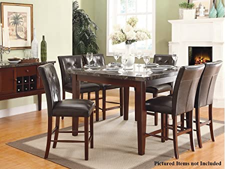 Decatur 5 PC Counter Height Dining Table Set by Home Elegance in Espresso