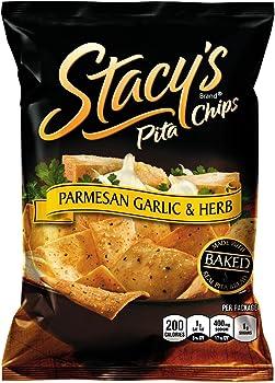 24-Pack Stacy's Parmesan Garlic & Herb Pita Chips