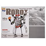 Totally Cool Toys Educational Toy Series Intelligent Robot DIY Kit (142 Pieces) (Color: Multicolor)