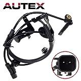 AUTEX ABS Wheel Speed Sensor Rear Left ALS1706 4670A157 4670A583 compatible with Mitsubishi Lancer 2009 2010 2011 2012 2013 2014 & OUTLANDER 2007 08 2009 2010 2011 2012 13 2014 & OUTLANDER SPORT 2011