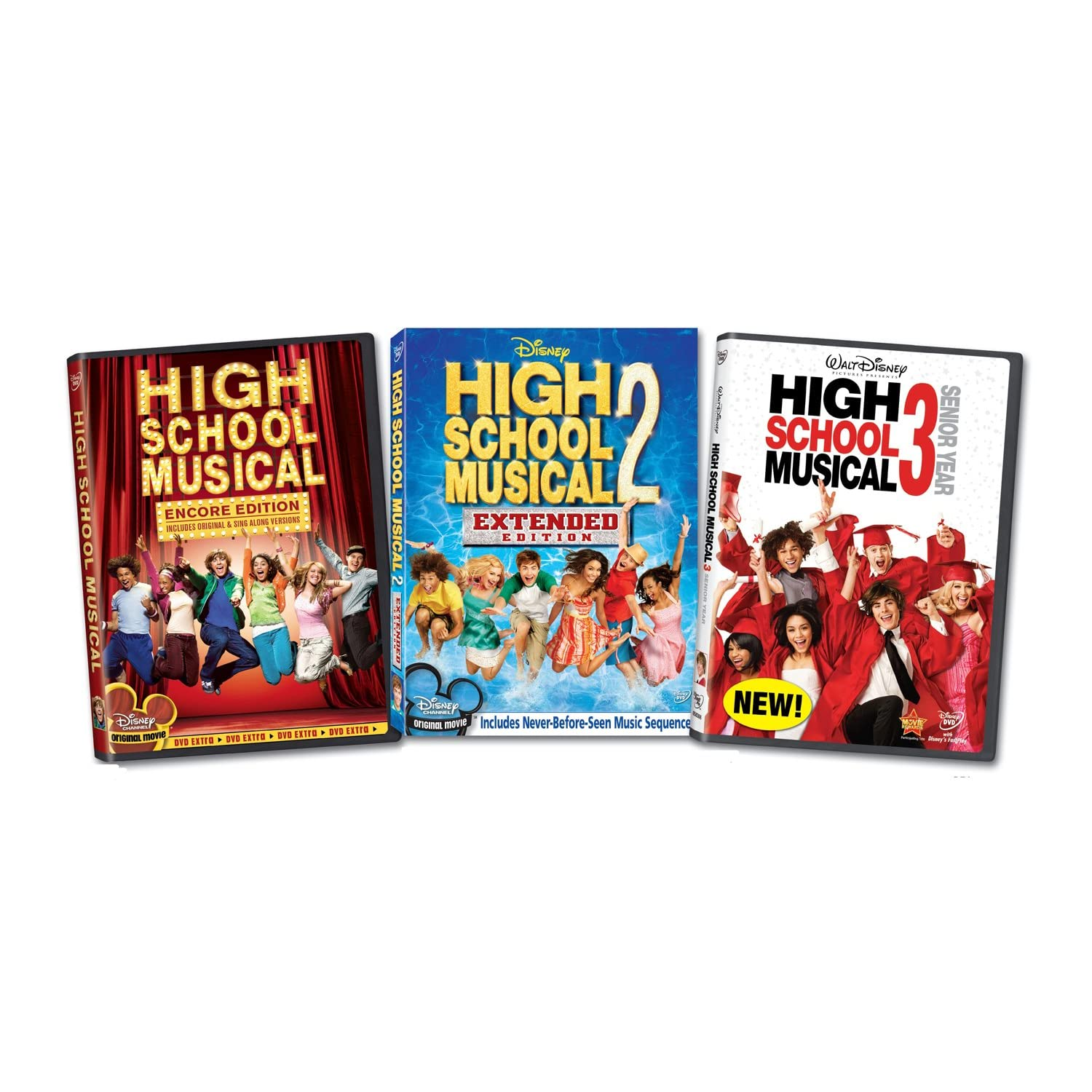 High School Musical Trilogy DVDRip - Samples Included