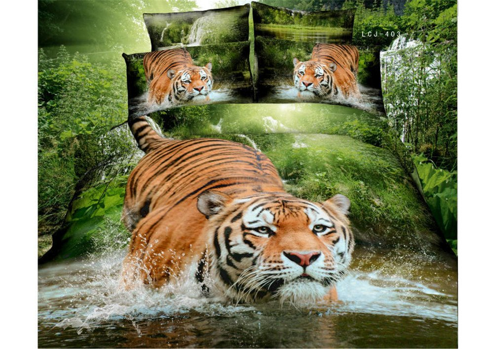 Tiger And Jungle Theme Bedding Ease Bedding With Style