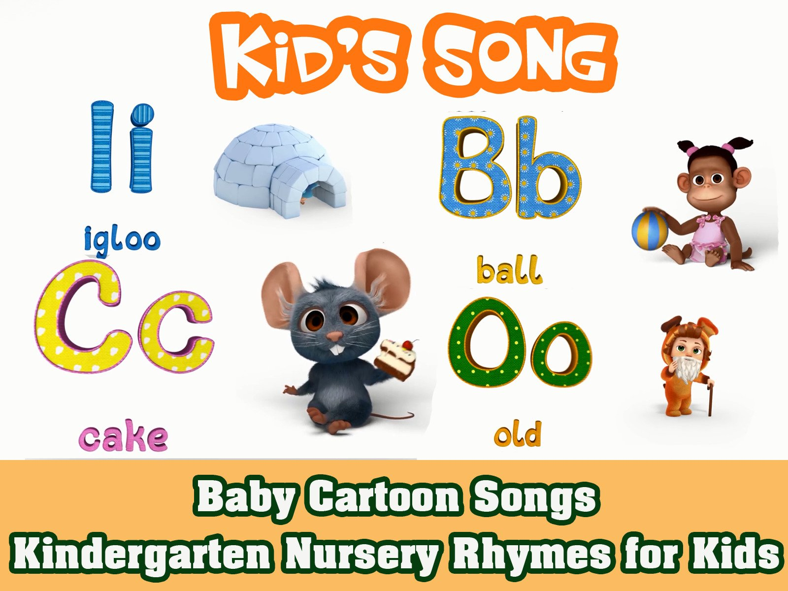 Clip: Baby Cartoon Songs on Amazon Prime Instant Video UK