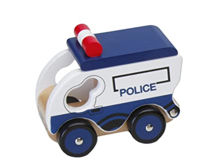 Toy Police Car Toy Wooden Police Car