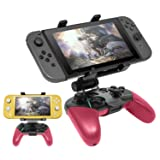 Compatible with Nintendo Switch Pro Controller Mount Clip, Adjustable Clip Clamp Holder Game Clip for Nintendo Switch/Nintendo Switch Lite Console