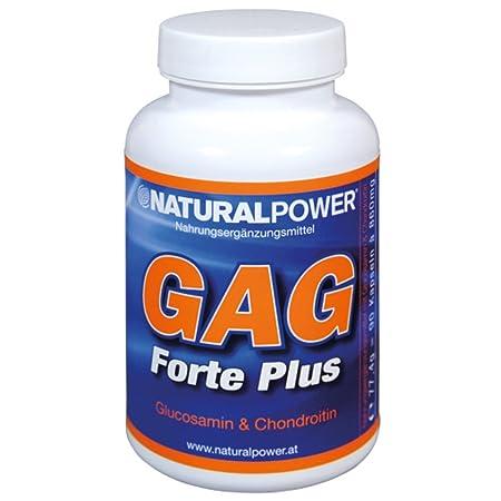 Natural Power GAG Forte plus 90 Kapseln Gelenke Glucosamin Chondroitin