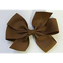 3 Simple Grograin Hair Bow