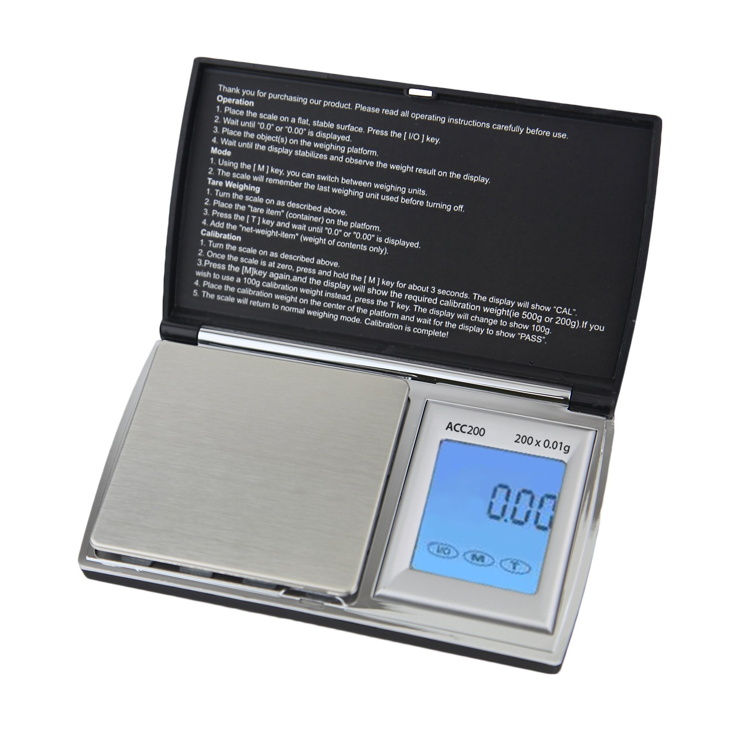 Smart Weigh ACC200 AccuStar Digital Pocket Scale