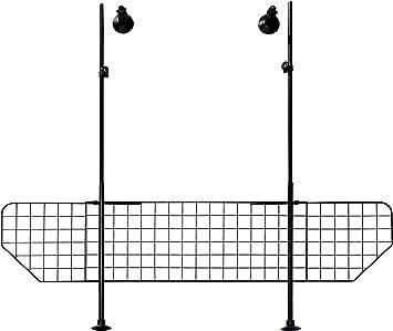 1325 Grille de s/écurit/é auto Largeur 125-140 cm // Hauteur 63-135 cm Noir Trixie