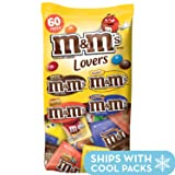 M&M'S Candy Fun Size Variety Mix 33.08-Ounce 60-Piece Bag (Color: Chocolate, Tamaño: 33.08 Ounce (60 Count))