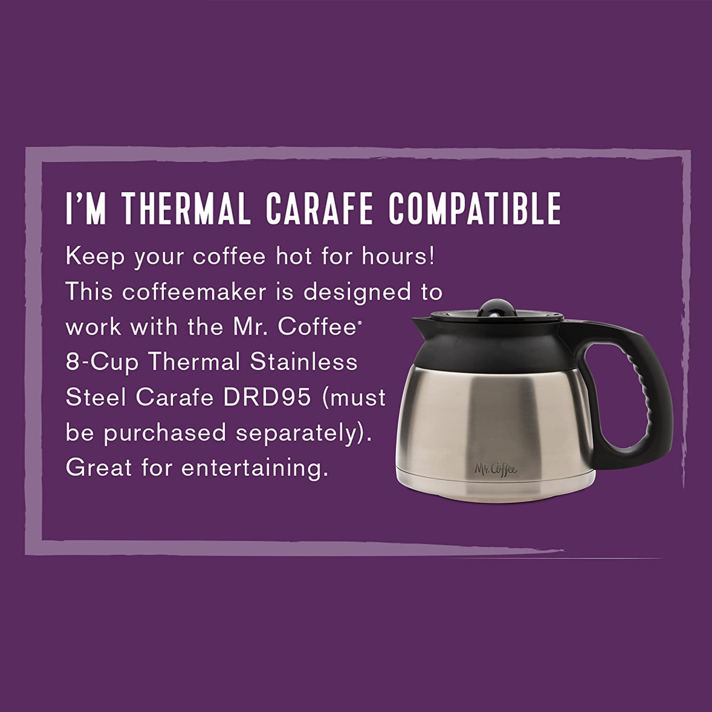 Mr. Coffee BVMC-SJX33GT 12-Cup Programmable Coffeemaker 72179231387 eBay