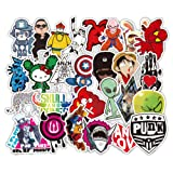 DOFE Car Stickers 500 pcs, Laptop Stickers,Motorcycle Bicycle Luggage Decal Graffiti Patches for Teens (Stickers 500 pcs B) (Tamaño: Stickers 500 pcs B)