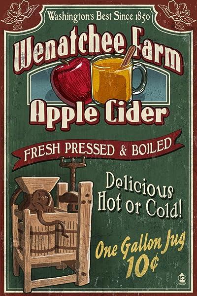 Apple Cider Vintage Sign